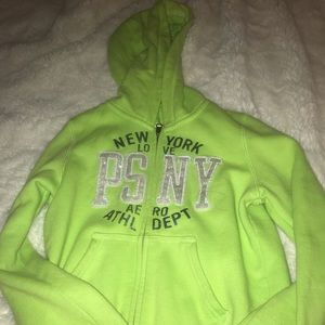💚Green jacket for girls size 8